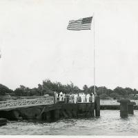 Dedication Ceremonies for Plaque for USS Arizona