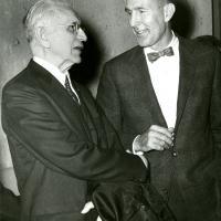 Morris K. Udall and House Speaker John McCormack