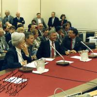 Mofford, Stump, Ky, and Udall, 1987
