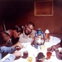 A camp meeting on Africa&#039;s Mt. Kilimanjaro, 1963<br />