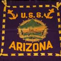 USS Arizona banner