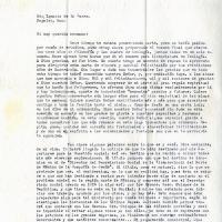 Carta de Carlos De la Torre a su hermano Ignacio De la Torre, 1953-09-26<br />