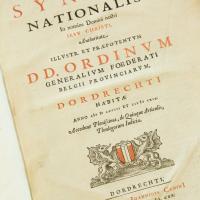 Acta Synodi nationalis--Detail