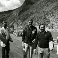 Roosevelt Dam visit, 1981