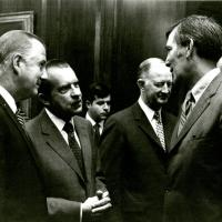 Vice-President Spiro Agnew and President Richard Nixon, January 1973