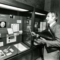 Udall visiting exhibit at University of Arizona Special Collections
