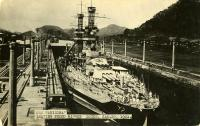 USS Arizona postcard
