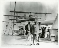 President Hoover and Secretary of Navy Hurley