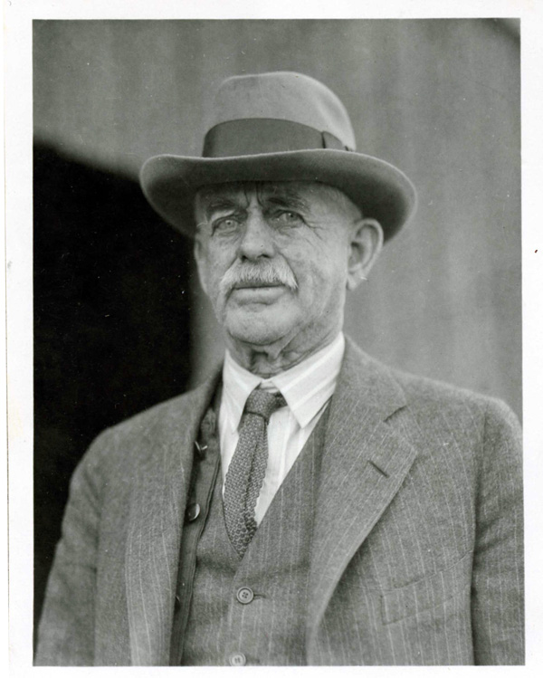 Photo of Edward Vail, 1926