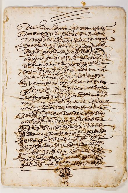 Convento de Santo Domingo de Mexico documents