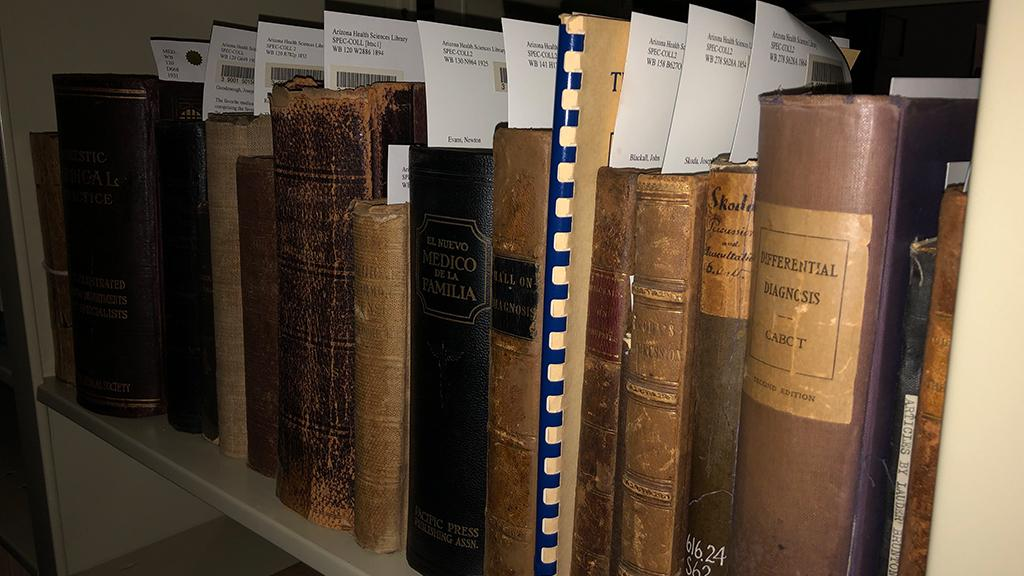 Books from the University of Arizona Health Sciences Library Collection