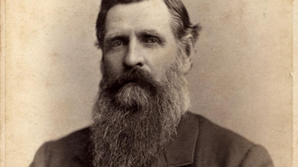 Photograph of Granville H. Oury, circa 1880