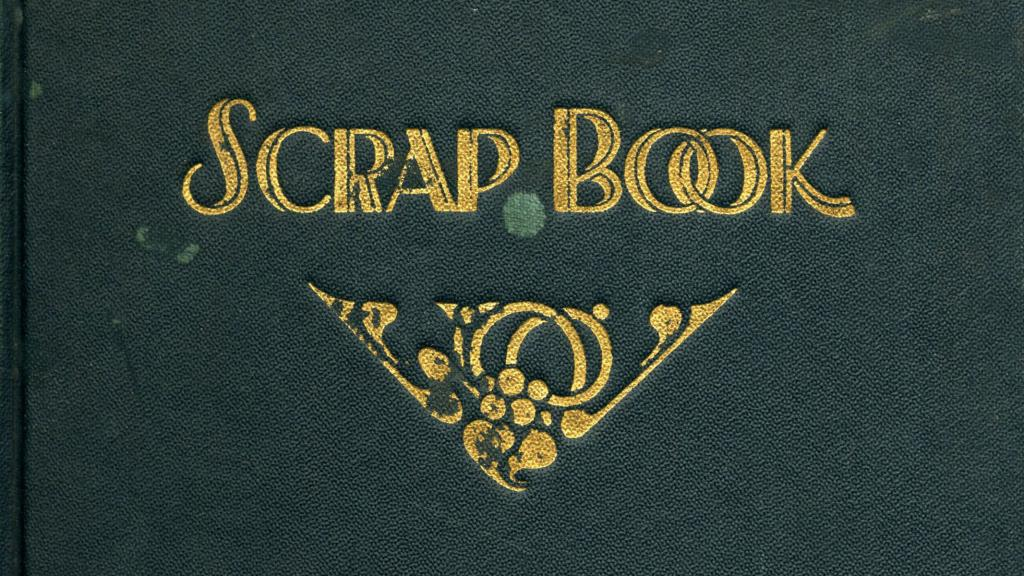 Cover of the Publicity scrapbook of The University of Arizona Library, 1932-1980