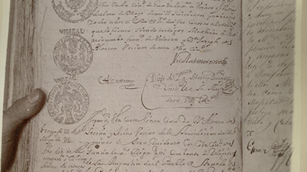 Photocopy of Document for Defense of Peralta Land Claim