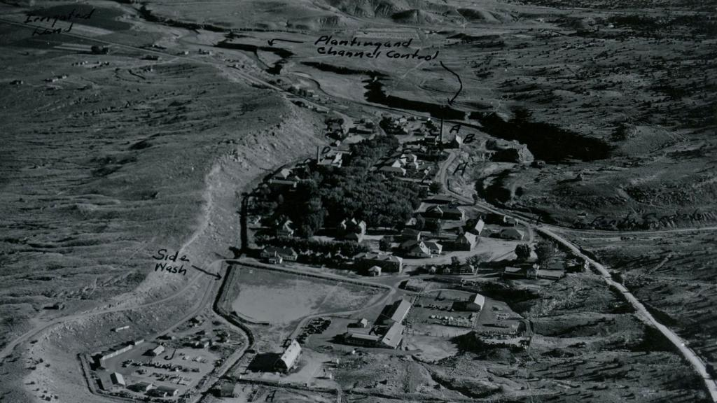 View of Ft. Defiance, Arizona Looking South, 1941