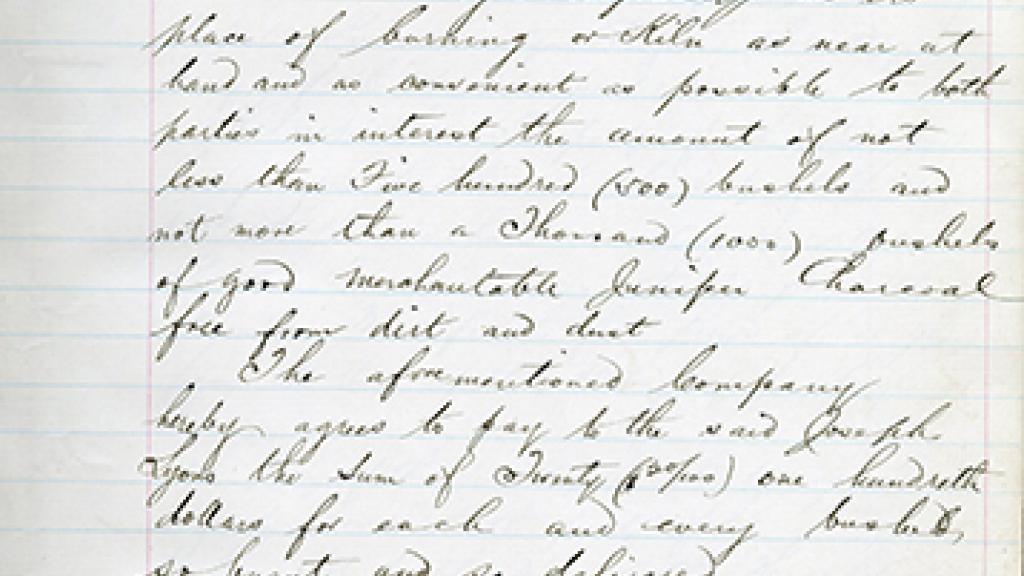 Correspondence with Joseph Lyons
