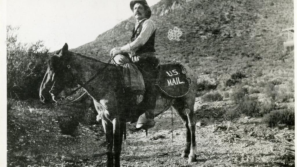 U.S. Postal Serviceman in the Southwest