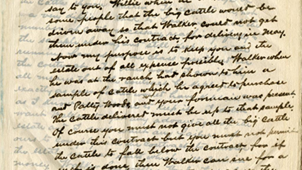 Carbon copy of a letter to Paul