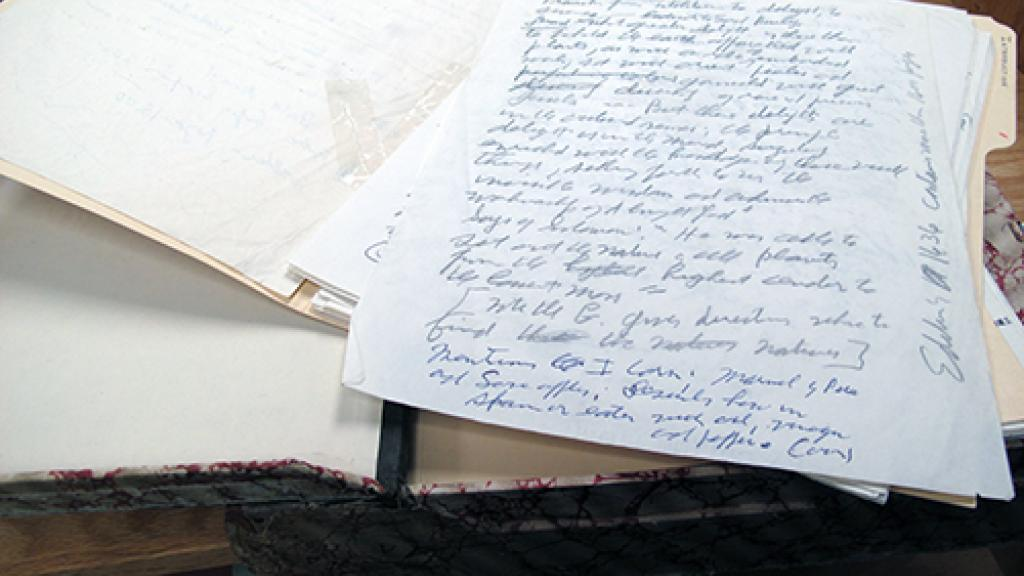 File of Handwritten Correspondence