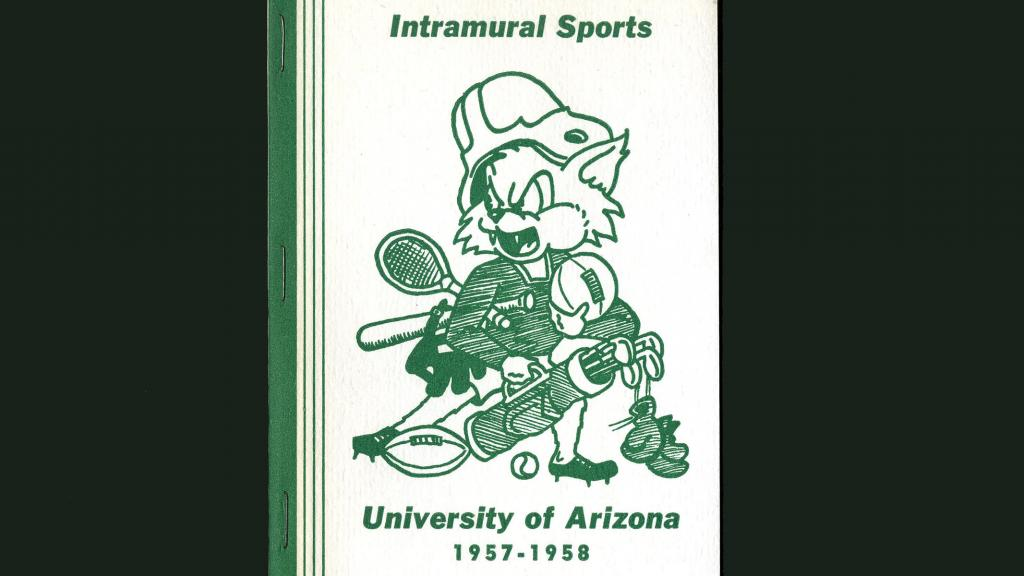 Cover of Intramural Sports University of Arizona Report, 1957-1958