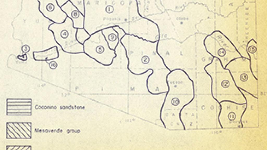 Map of Southern Arizona | Special Collections