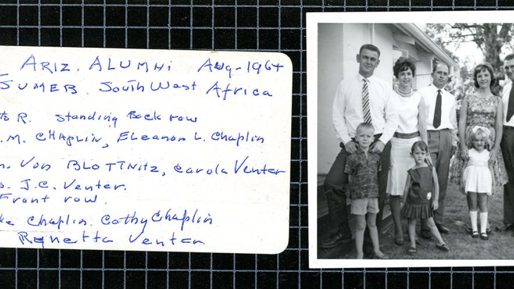 University of Arizona Alumni in Tsumeb, Namibia, Africa, August,1964
