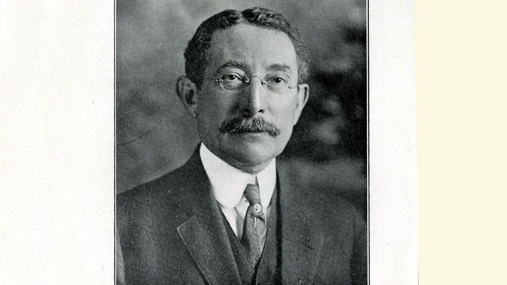 Photograph of Selim Maurice Franklin Published in Who's Who in Arizona, undated