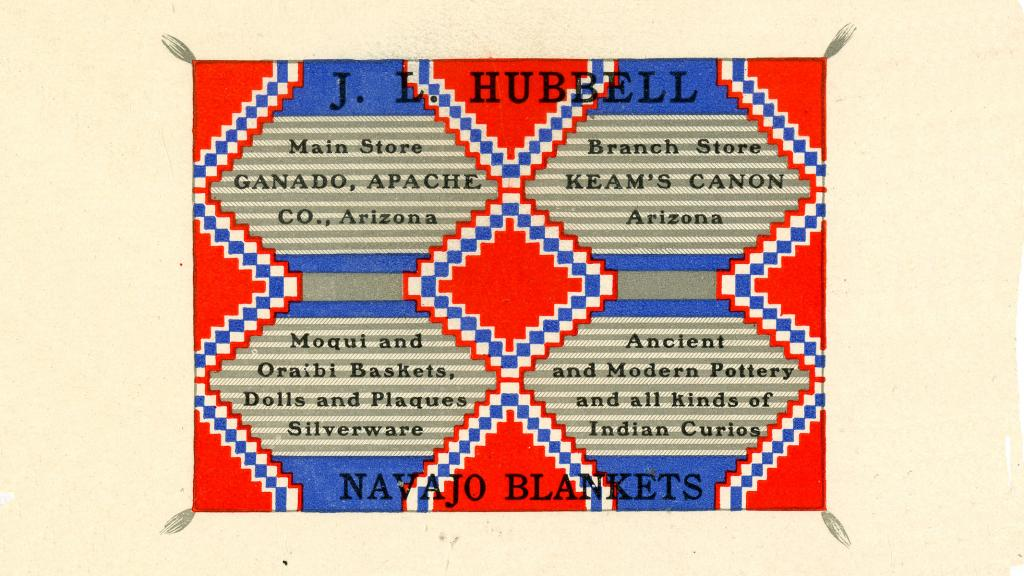 J.L. Hubbell Business Card, undated