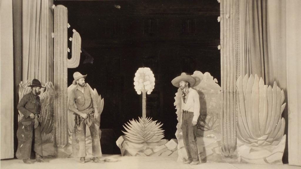 Photograph of The Shaman Players' Production of Mirage, circa 1924