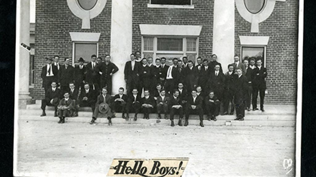 1912-1913 South Hall Residents