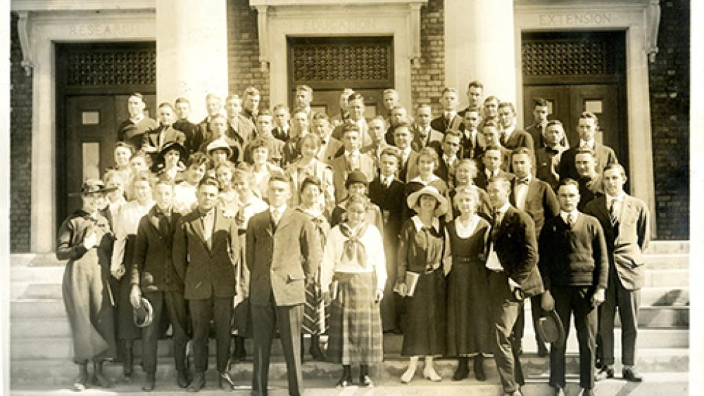 University of Arizona Sophomore Class of 1917