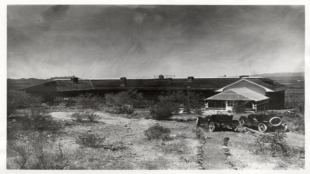 Photograph of Main Laboratory at the Carnegie Desert Botanical Laboratory, circa 1912