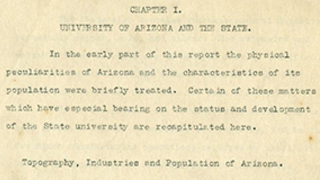 Report of Capen's Survey