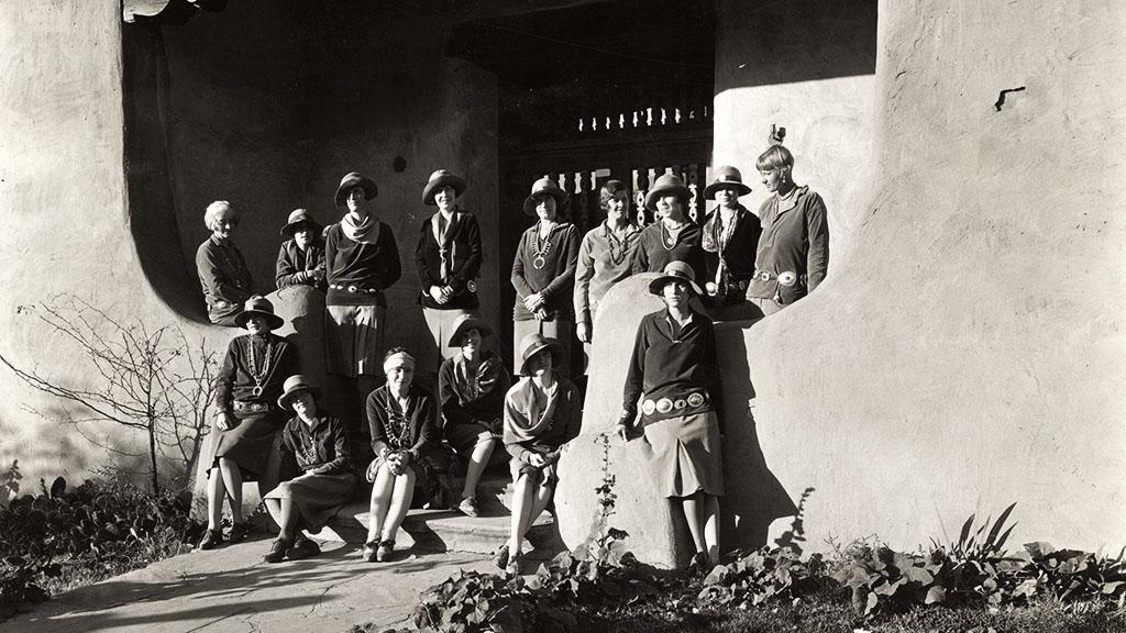 Group of Couriers with Indian Detour, undated