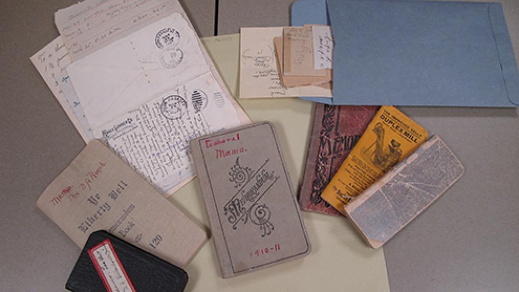 Gertrude Edna Lewis Gates Materials