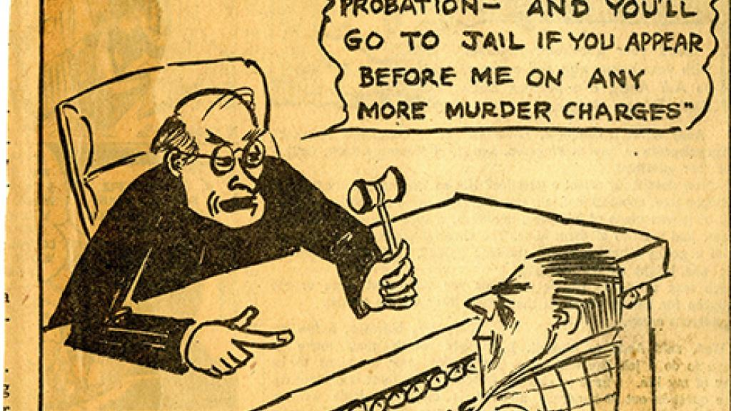Political Cartoon Published in the Arizona Daily Star, 1957
