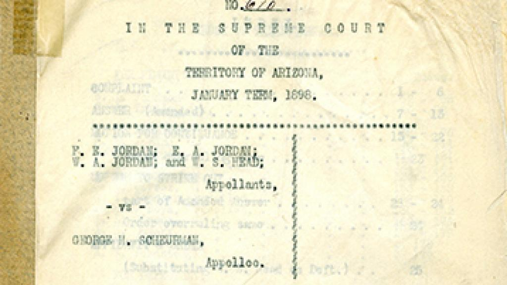 Cover Page of The Appellant's Abstract