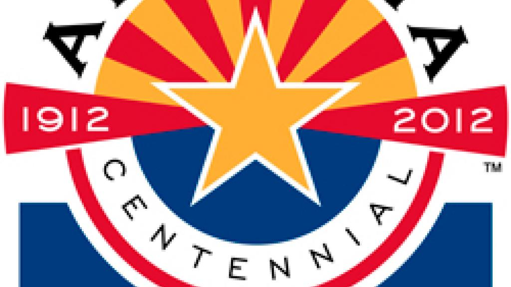 Image of Arizona Centennial Event logo