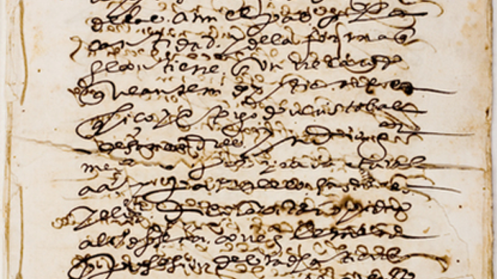 Manuscript of Convento de Santo Domingo de Mexico documents