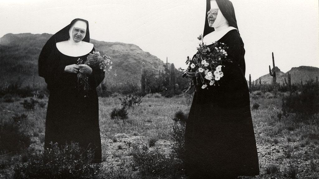 Nuns at Covered Wells, 1912