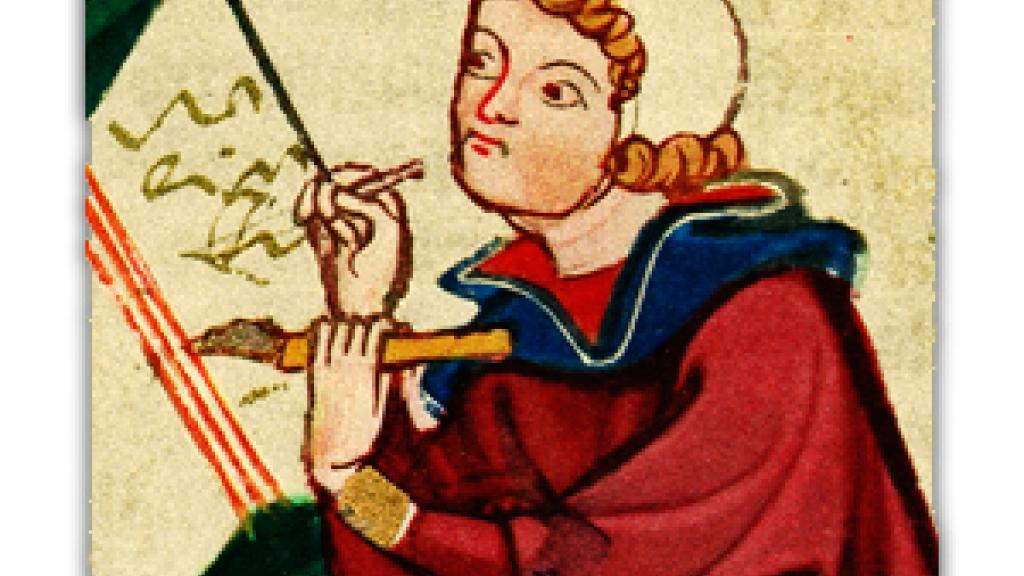 Illustration from the Codex Manesse or Manessische Liederhandschrift
