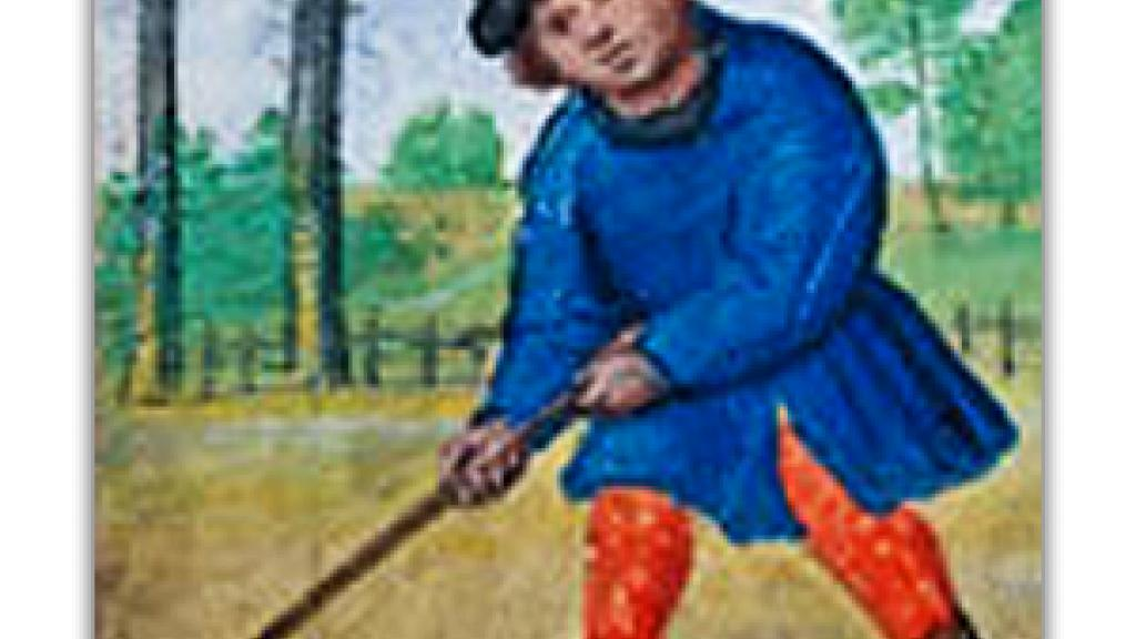 Illustration from The Golf Book (Book of Hours), by Simon Bening, ca. 1530
