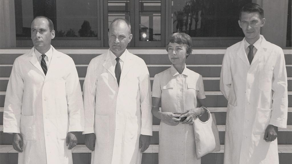 Department of Pathology staff, 1968