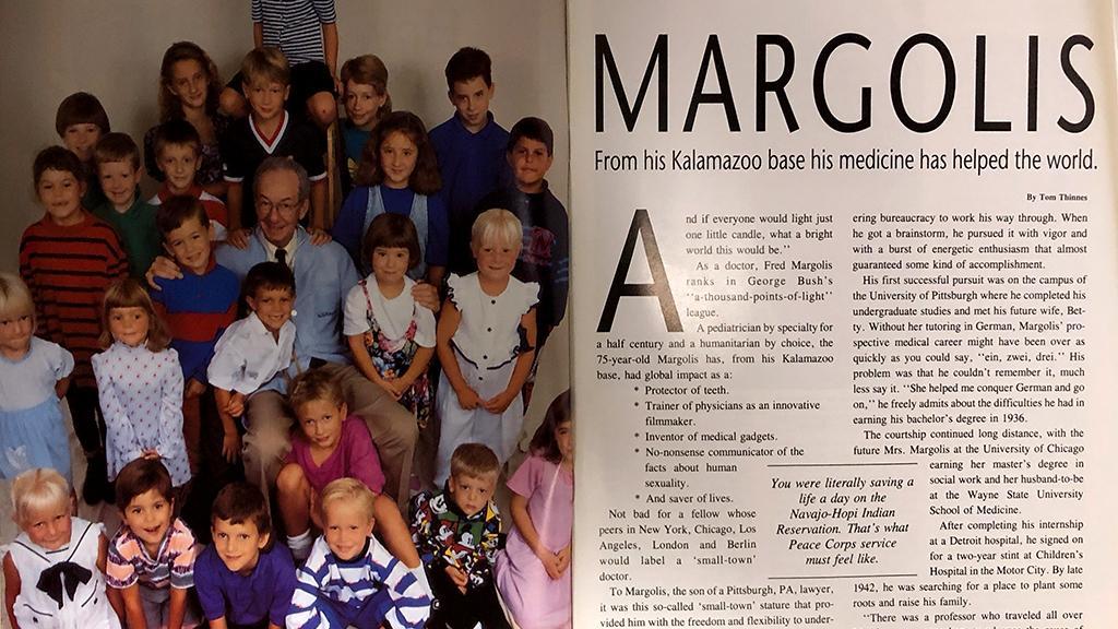 Dr. Frederick J. Margolis, Encore Magazine, 1990