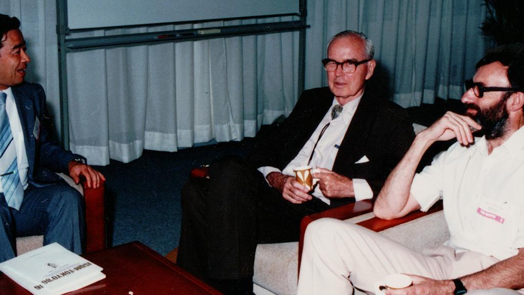 Willis E. Lamb, Jr., 1986