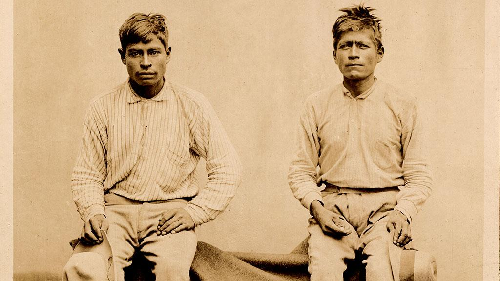 Photograph of Two Men Seated, August 12, 1896