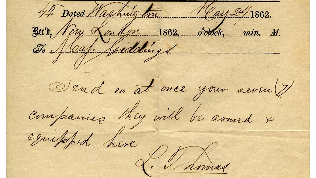 Official Correspondence of the 14th Infantry, May 24, 1862