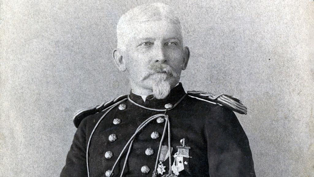 Portrait of Major J.L. Robinson, October, 1890