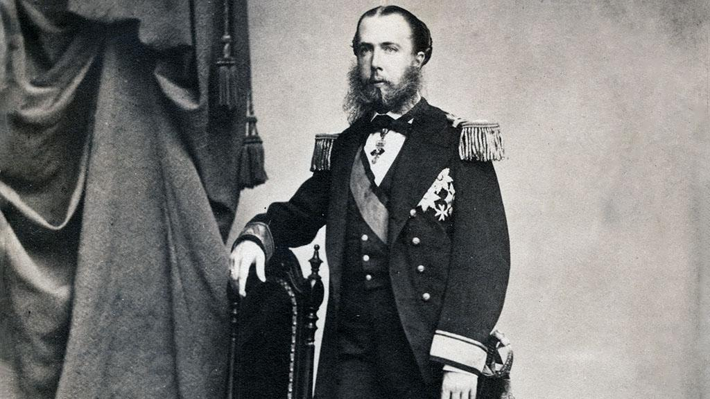 Portrait of Emperor Ferdinand Maximilian of Mexico, undated