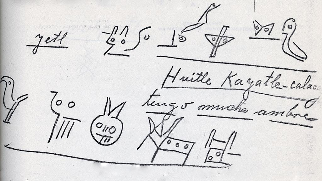 Sketches from Alamo Ranch Papers, circa 1920